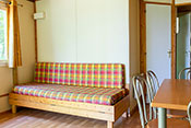 Sarlat chalet's living room