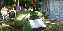 Pitch rental for tent, caravan and motor home located in the Lot