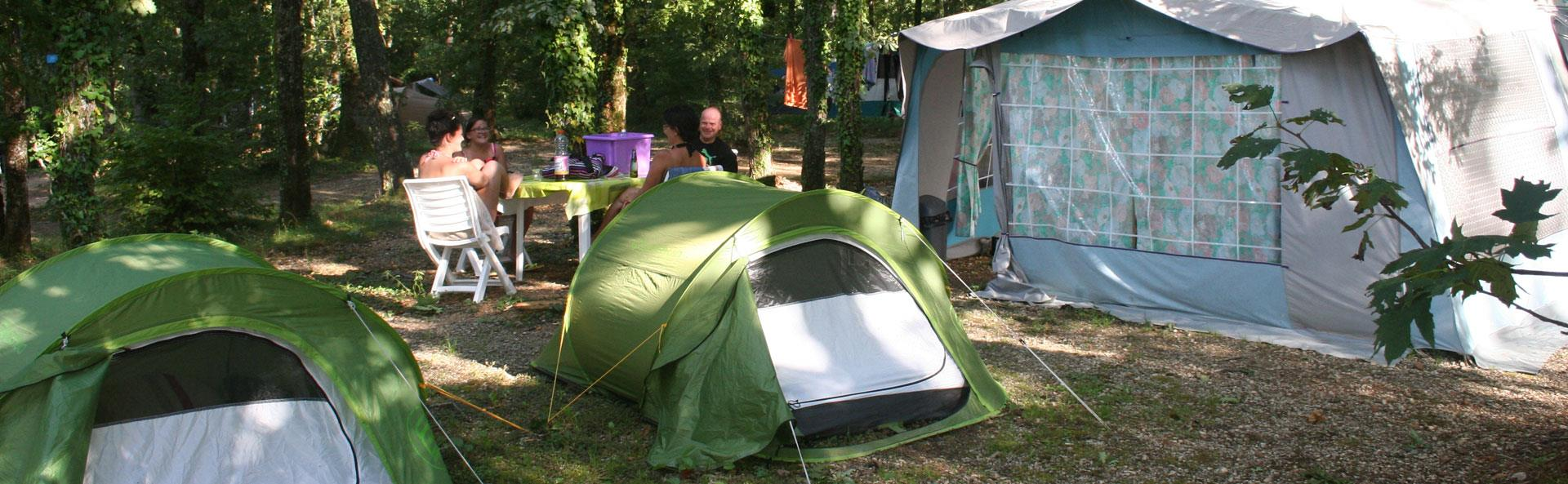 Campsite pitch Lot – Lot Evasion: campsite in the Lot between Quercy and Périgord